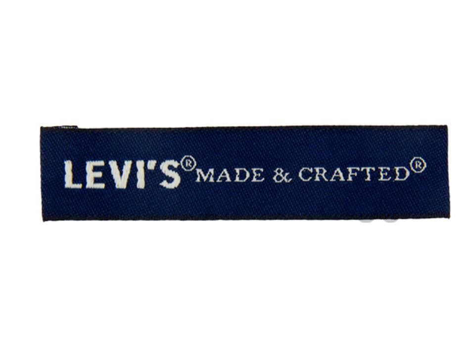 Garment Woven Clothing Labels Tag Damask Custom Woven Fabric Labels